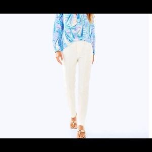 NWTS Lilly Pulitzer Chantal Stretch  pant $148